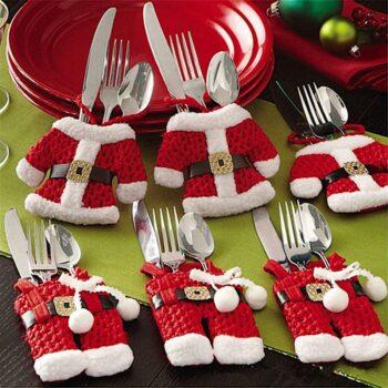 Apparecchiare la tavola a Natale